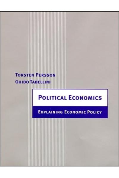 political economics (persson, tabellini)