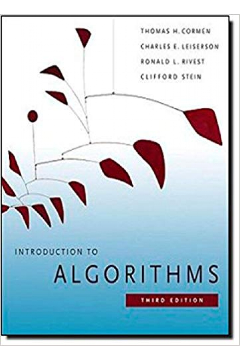 introduction to algorithms 3rd (Cormen. leiserson, rivest, stein)