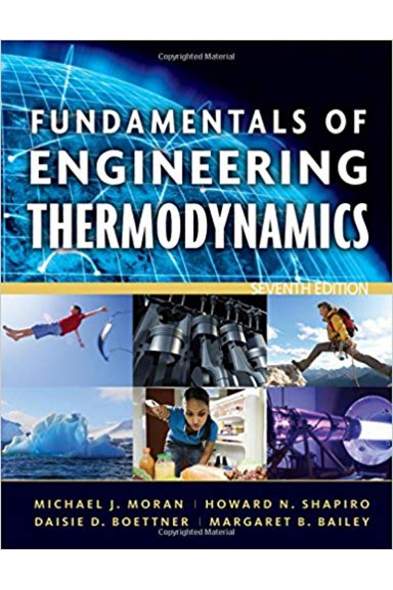 fundamentals of engineering thermodynamics 7th (michael j. moran, howard n. shapiro)