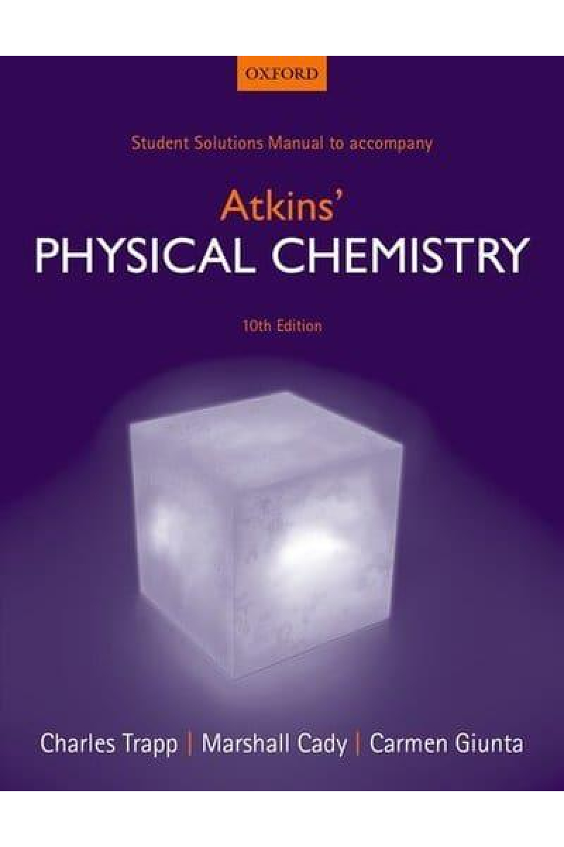 physical chemistry 10th SOLUTION (peter atkins, julio de paula)