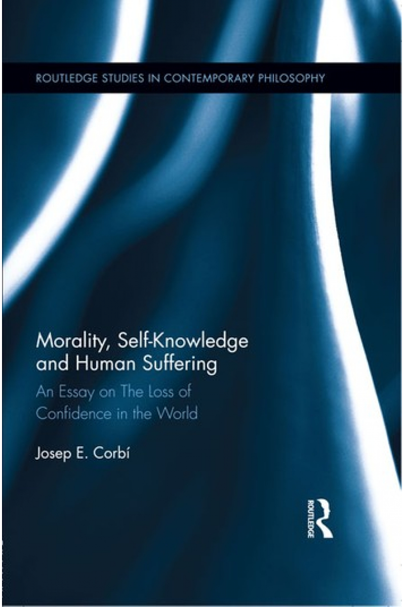 morality self knowledge and human suffering (josep corbi)