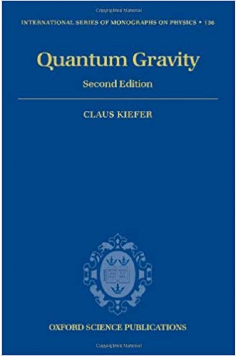 quantum gravity 2nd (claus kiefer)