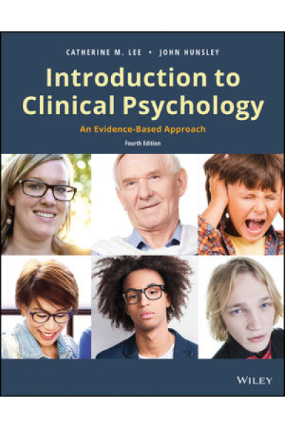 introduction to clinical psychology (hunsley, lee)