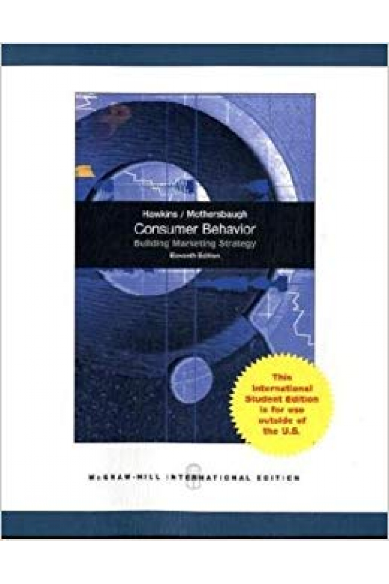 consumer behavior 11th (del i. hawkins, roger j. best)