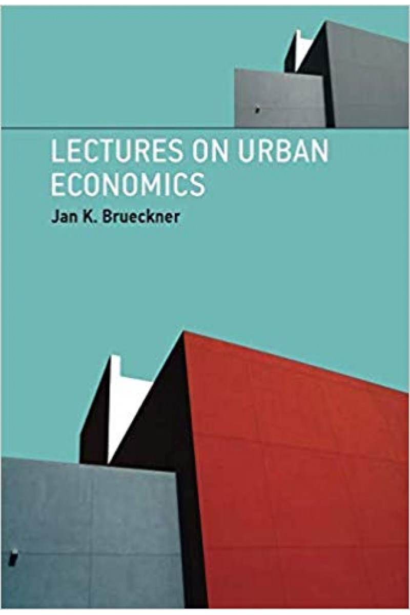 lectures on urban economics (jan brueckner)