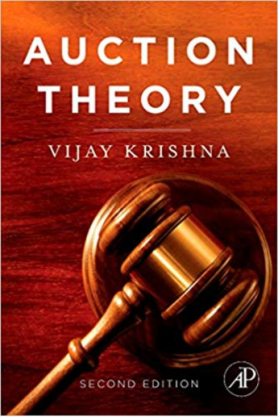 auction theory 2nd (vijay krishna)