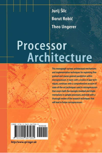 Processor Architecture: From Dataflow to Superscalar and Beyond Processor Architecture: From Dataflow to Superscalar and Beyond