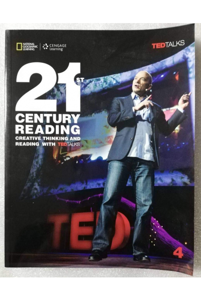 21st Century Reading 4: Creative Thinking and Reading with TED Talks (Siyah Beyaz )