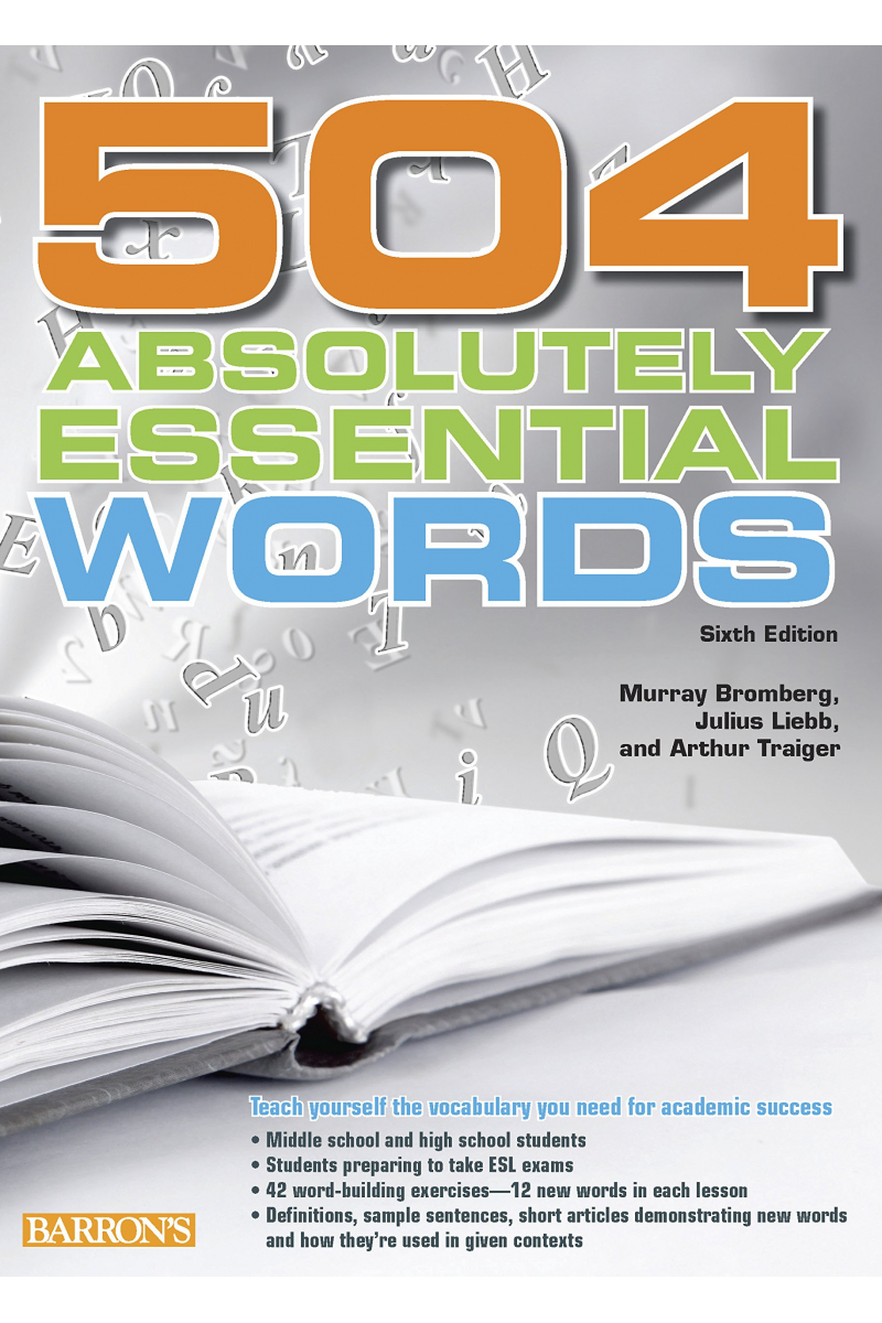 504 Absolutely Essential Words Sixth Edition