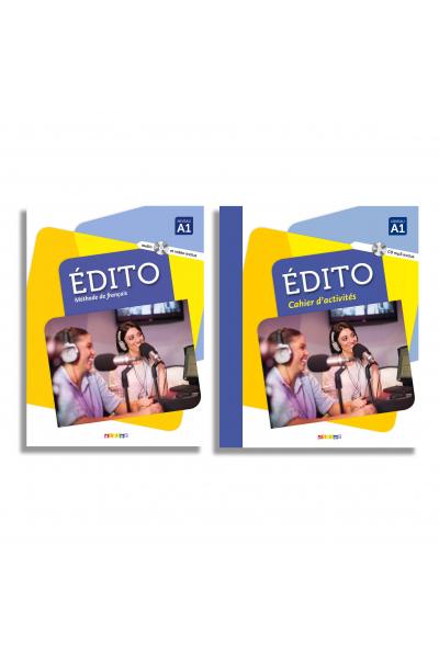 Édito A1: méthode de français + Cahier d'activités + DVD-ROM