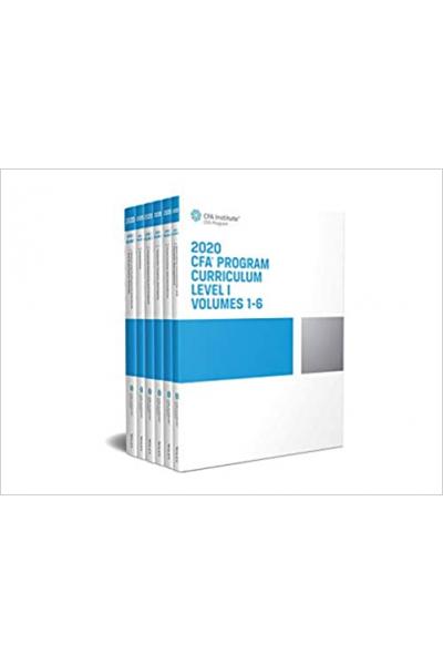 CFA program curriculum 2020 level I ( 1 ) Volume 1-6