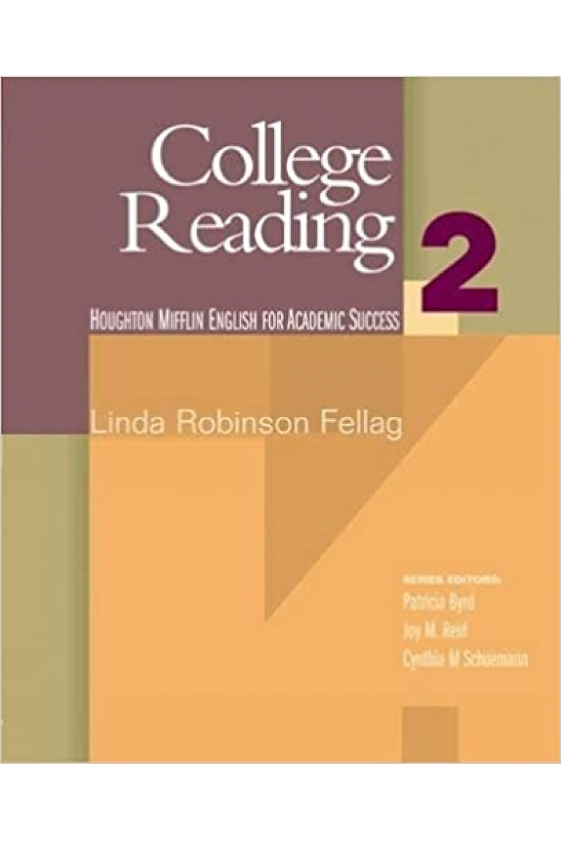 College Reading 2   ( Linda Robinson Fellag)