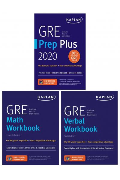 GRE Complete 2020 Kaplan Test Prep