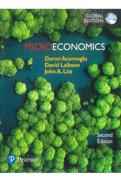 Microeconomics 2nd Daron Acemoğlu
