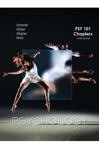 PSYCHOLOGY 3rd ( PSY 101 CHAPTER:1 -3 ,5,7,9,11-13,15)