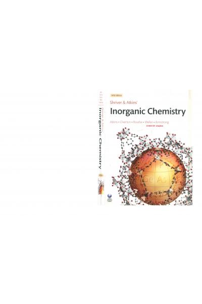 Inorganic Chemistry 5th (Peter Atkins) Chapters CHEM 331