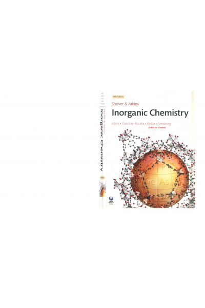 inorganic chemistry 5th (peter atkins) Chapters  CHEM 331  inorganic chemistry 5th (peter atkins) Chapters  CHEM 331