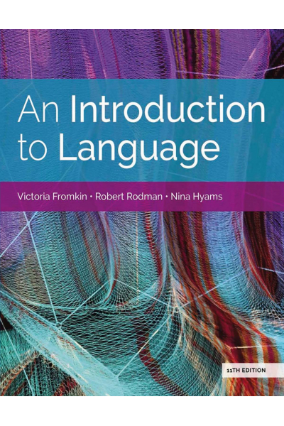 Ling 101 An introduction to language 11th (victoria fromkin, robert rodman) LING 101 Ling 101 An introduction to language 11th (victoria fromkin, robert rodman) LING 101