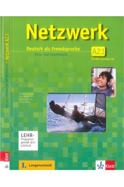 GER 201 Netzwerk A2.1 (Siyah Beyaz)