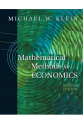 EC 223 Mathematical Methods for Economics 2nd (michael w. klein)
