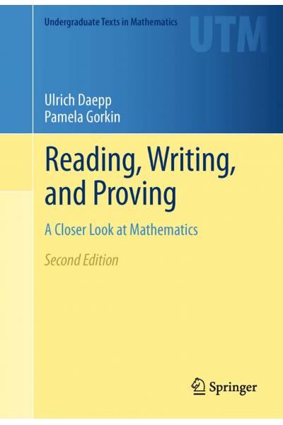 MATH 111 Reading Writing And Proving A Closer Look at Mathematics ( Daepp, Gorkin) MATH 111 Reading Writing And Proving A Closer Look at Mathematics ( Daepp, Gorkin)