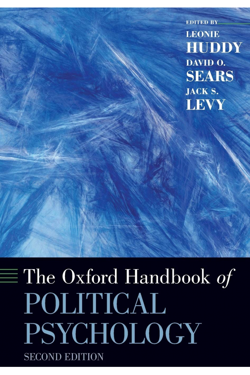 political psychology 2nd (huddy, sears, levy) - Kopya
