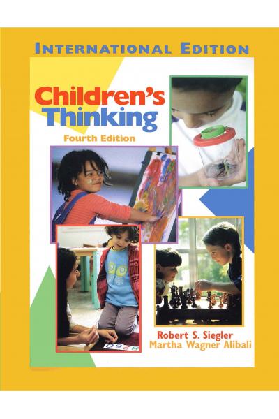 PSY 233 Children's Thinking 4th (Siegler, Alibali) PSY 233 Children's Thinking 4th (Siegler, Alibali)