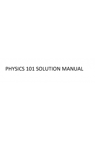 Physics for Scientists and Engineers with modern Physics 9th (john w. jewett, raymond a. serway) ins