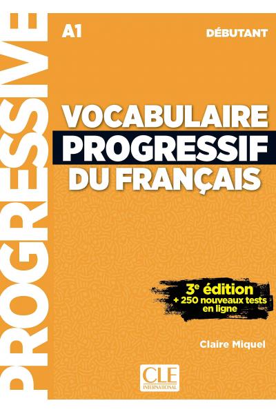 Vocabulaire Progressif Du Francais A1 - Debutant - 3rd +Corriges+CD
