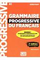 Grammaire Progressive Du Francais A1 - Debutant - 3rd +Corriges+CD