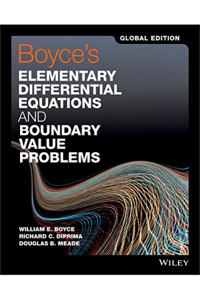Boyce's Elementary Differential Equations and Boundary Value Problems 11th (Boyce, Diprima)
