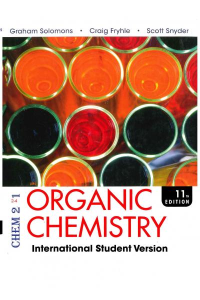 CHEM 241  Organic Chemistry 11th (graham solomons, craig b. fryhle) CHEM 241  Organic Chemistry 11th (graham solomons, craig b. fryhle)