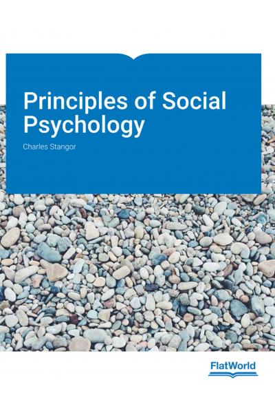 Principles of Social Psychology 1st International Edition Stangor PSY 241