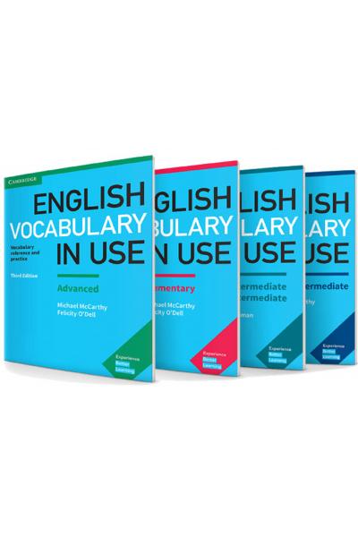 Vocabulary SET Elementary + Pre + Upper + Advanced + CD ler