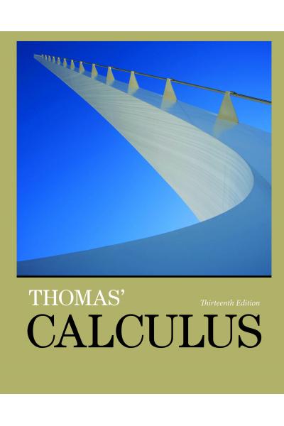 Thomas Calculus 13th (2014) Thomas Calculus 13th (2014)