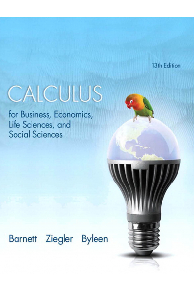 Calculus for Business, Economics Life Sciences TRM 151 Calculus for Business, Economics Life Sciences TRM 151