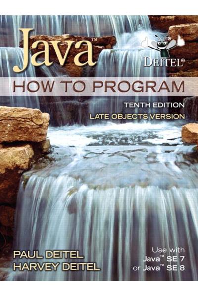 Java How to Program Late objects version 10th (Deitel) MIS 131 Java How to Program Late objects version 10th (Deitel) MIS 131