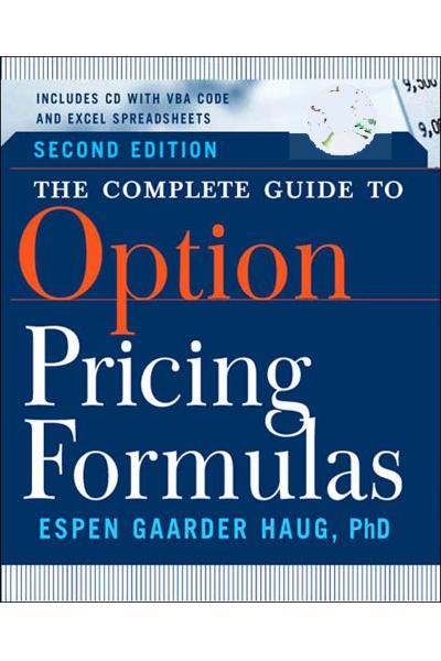 Option Pricing Formulas (Espen Gaarder Haug)