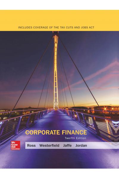 Corporate Finance 12th (Ross Westerfield)