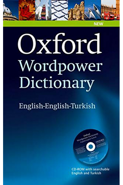 Oxford Wordpower Dictionary English-English-Turkish +CD Oxford Wordpower Dictionary English-English-Turkish +CD