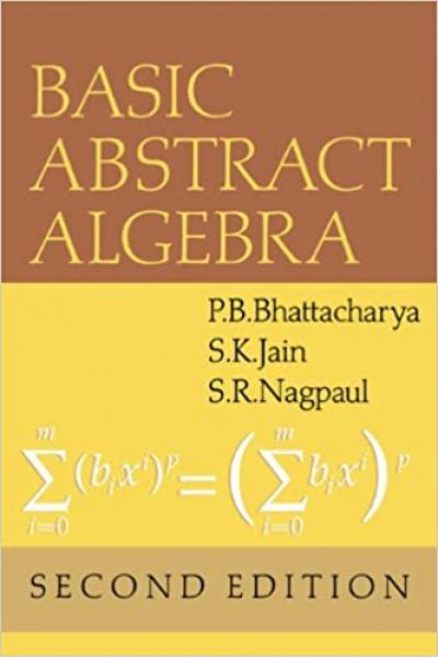 Basic Abstract Algebra 2nd Basic Abstract Algebra 2nd