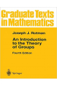 An Introduction to the Theory of Groups 4th (Joseph J. Rotman)