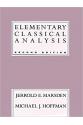 Elementary Classical Analysis, 2nd Edition (Jerrold E. Marsden, Michael J. Hoffman)