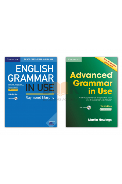 English Grammar in use + Advanced Grammar in use + Answers Key + CD-ROM English Grammar in use + Advanced Grammar in use + Answers Key + CD-ROM
