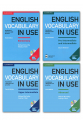 English Vocabulary in Use + CD Full SET 4 LÜ PAKET