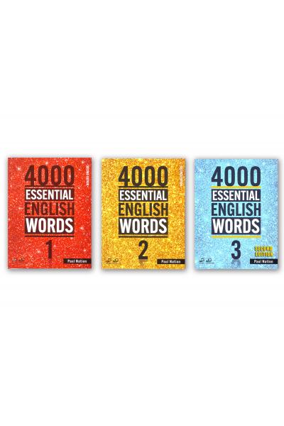4000 ESSENTIAL ENGLISH WORDS 1-2-3 + CD-ROMS 4000 ESSENTIAL ENGLISH WORDS 1-2-3 + CD-ROMS