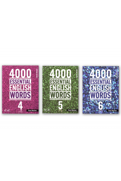 4000 ESSENTIAL ENGLISH WORDS 4-5-6 + CD-ROMS 4000 ESSENTIAL ENGLISH WORDS 4-5-6 + CD-ROMS