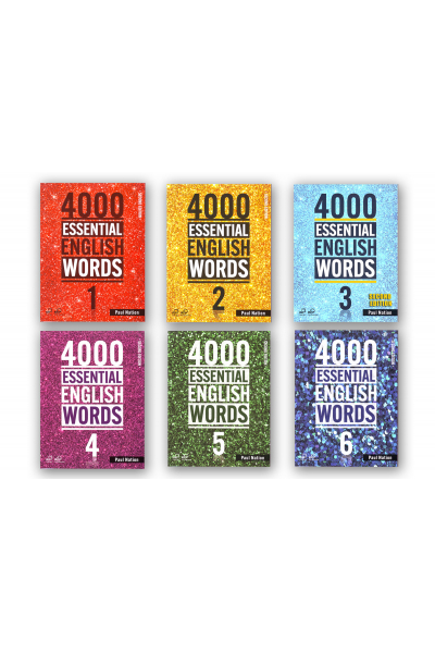 4000 ESSENTIAL ENGLISH WORDS 1-2-3-4-5-6 + CD-ROMS 4000 ESSENTIAL ENGLISH WORDS 1-2-3-4-5-6 + CD-ROMS