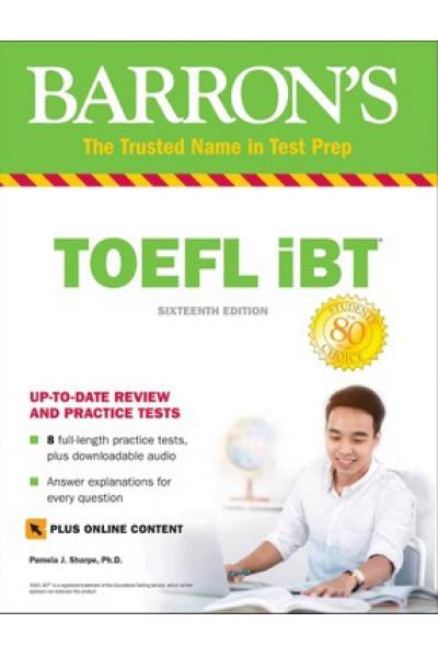 TOEFL iBT with Barron's Test Prep 16th 2019 TOEFL iBT with Barron's Test Prep 16th 2019