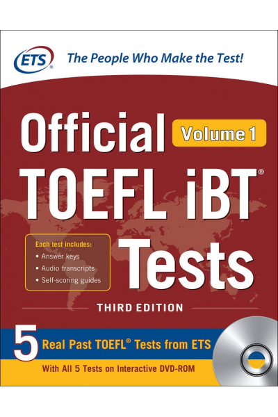 Official TOEFL iBT Tests Volume 1, Third Edition Official TOEFL iBT Tests Volume 1, Third Edition